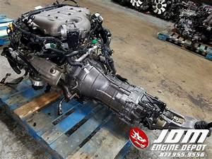 03 04 Nissan 350z Fairlady Z 3 5l V6 Engine Manual Trans