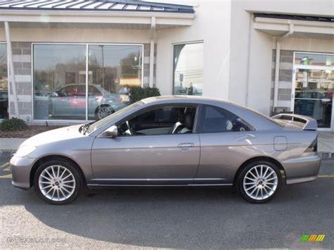 magnesium metallic 2005 honda civic ex coupe exterior