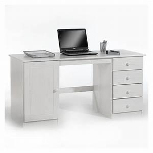 Schreibtisch Kiefer Massiv : schreibtisch computertisch pc schreibtisch arbeitstisch kiefer massiv in 2 farbe ebay ~ Orissabook.com Haus und Dekorationen