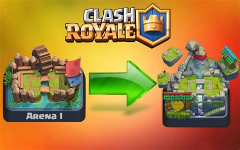Clash Royale Arena And Four Cards Update Data Leaks