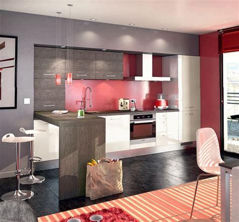 deco cuisine gris et blanc une cuisine moderne bien agencée en blanc gris et
