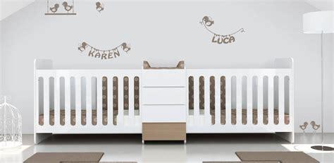 chambre de b b jumeaux chambre bébé meubles et lits de bébés et enfants de