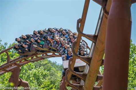 tennessee tornado coaster  dollywood review