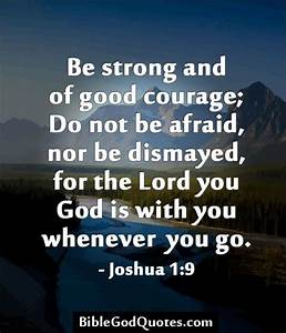 Bible Quotes On Courage. QuotesGram