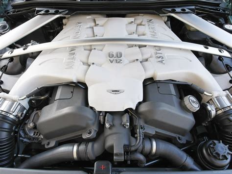 Martin V12 Engine by Aston Martin Dbs Racing Green 2008 Coupe V12 Engine
