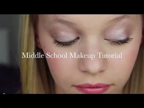middle school makeup tutorial drugstore edition youtube