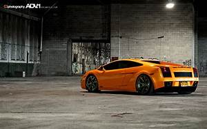 Orange Lamborghini Gallardo Wallpaper Image 111
