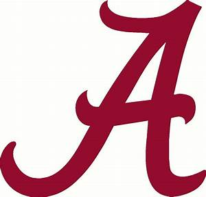 "Alabama A Decal Sticker Crimson Tide roll tide 24"" Auto"