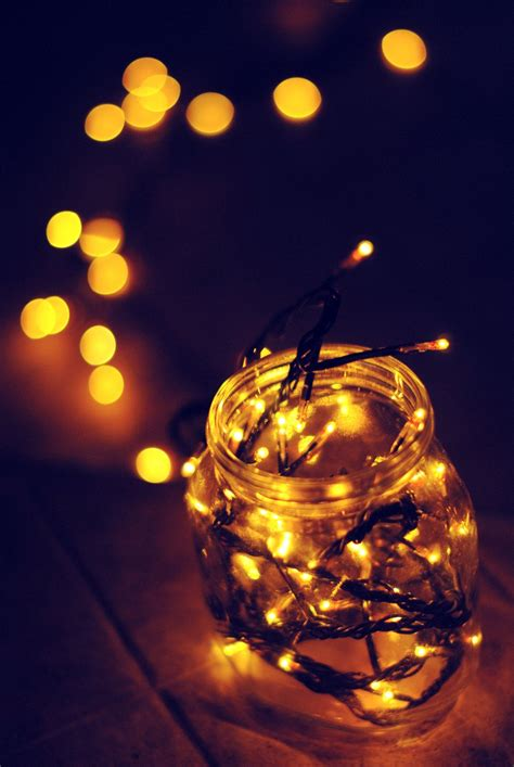 christmas lights in the jar by speachlessgiuly on deviantart