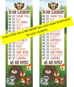 WOODLAND animals Classroom Decor: X LARGE BANNER In Our
