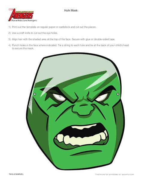 marvel avengers hulk mask