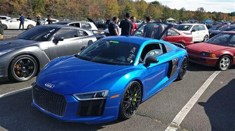 2017 Audi R8 V10 Plus 1/4 Mile Drag Racing Timeslip Specs
