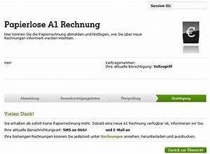 A1 Rechnung : a1 online rechnung jetzt papierrechnung abmelden a1blog ~ Themetempest.com Abrechnung
