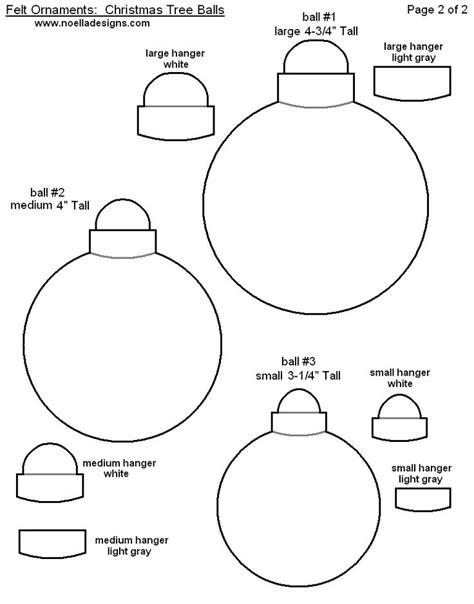 felt christmas pattern ornament templates pinterest