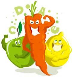 Foods Vitamin and Minerals Clip Art