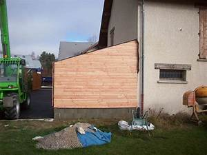 agrandissement garage With photo bardage bois exterieur 10 creation dun sas dentree