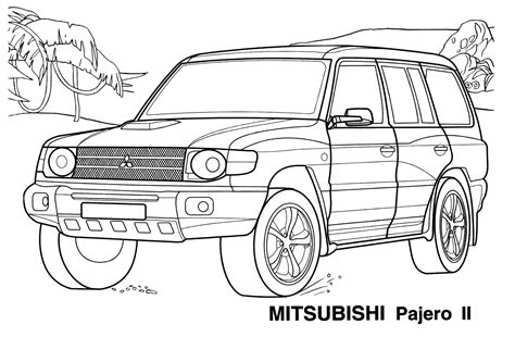 disegni da colorare jeep disegni da colorare giapponese jeep
