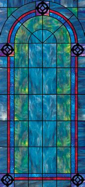 church window film stained glass window film plain designs