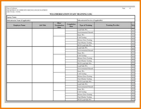 workouts log templates printable
