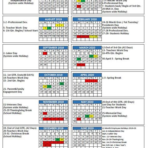 mcpss releases school year calendar thewire