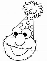 Elmo Coloring Pages sketch template