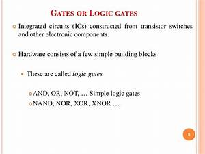 Logic Gate Implementing Without Using Ics By Nimay Giri