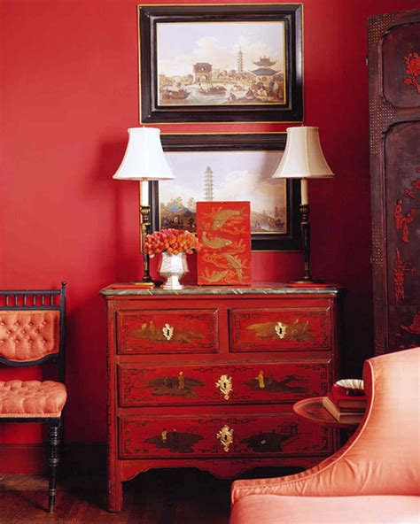 red rooms martha stewart