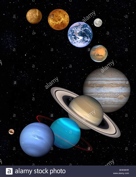 Size of Planets in Our Solar System - Bing images