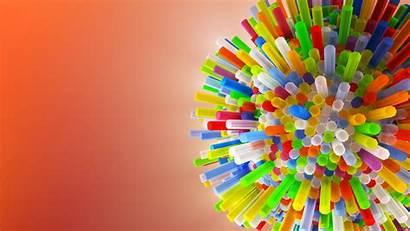 4k Trippy Colorful 3d Tubes