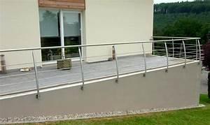 garde corps de terrasse metal concept escalier With garde corps terrasse inox