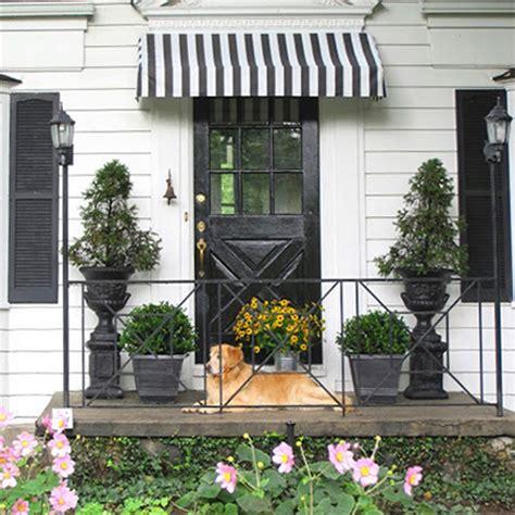 home dzine home diy decorative door window awning