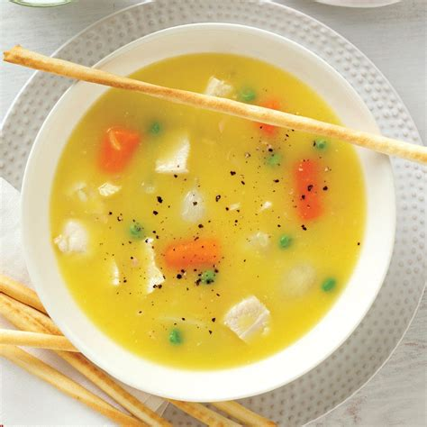 simple chicken soup simple chicken soup recipe taste of home