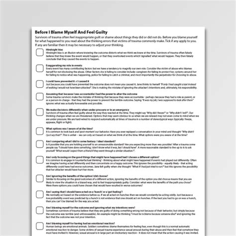 grief loss therapy worksheets handouts psychology tools