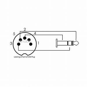 Kenable 5 Pin Din Plug To 3 5mm Jack Stereo Plug Audio