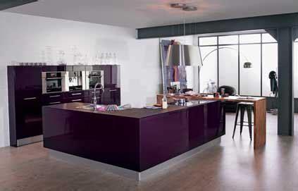 deco cuisine violet style déco cuisine violet