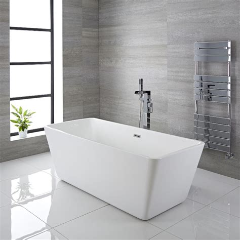 Freistehende Badewanne Die Moderne Badeinrichtungminimalistische Freistehende Badewanne by Freistehende Badewanne Rechteckig 1615mm Elswick