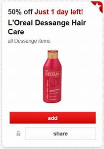 Cartwheel Offer 50 Off L39Oreal Dessange Hair Care All