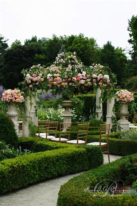 wedding ceremony botanical garden wedding a