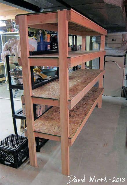 2x4 cabinet plans storage shelves for garage plans easy wood shelf design