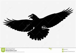 Flying Raven Stock Images - Image: 26618614