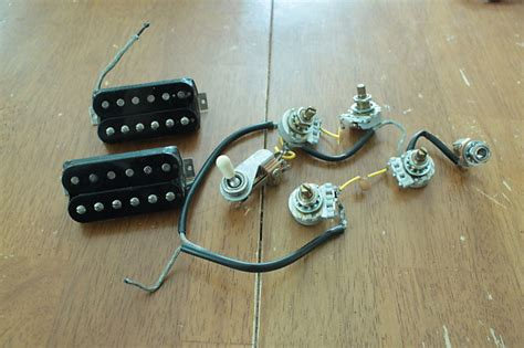 Wiring Harnes For Epiphone Dot 335 by Gibson Usa Sg 490t 490r Humbucker And Wiring