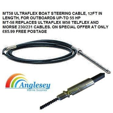 Marine Hydraulic Steering Cable by Boat Steering Hydraulic Boat Steering Boat Steering Cables