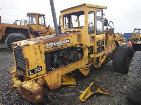 volvo l70 dismantling for parts wheel loaders year of manufacture 1991 mascus uk