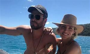 Chris Hemsworth and Elsa Pataky celebrate his birthday at ...
