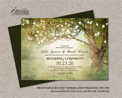 25 best ideas about woodland wedding invitations on