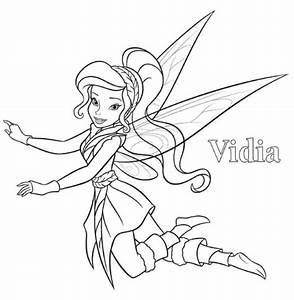 vidia tinkerbell coloring page | Birthday | Pinterest ...