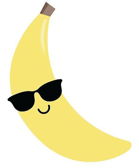 quot banana emoji cool sunglasses quot photographic prints by teeandmee redbubble