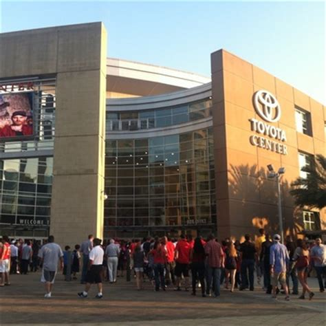 Toyota Center Box Office by Toyota Center In Houston Tx 77002 Citysearch