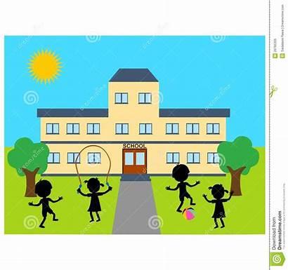 Building Clipart Illustration Playing Children Clipartpanda Clip