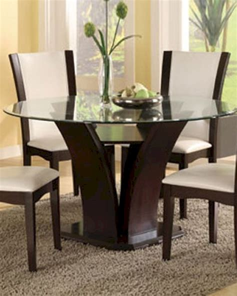 Round Glass Top Dining Table Daisy El71054